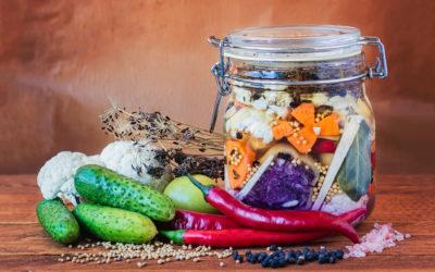 Les aliments lactofermentés et leurs bénefices pour la santé